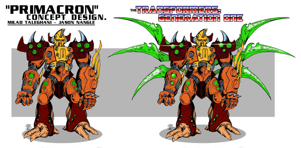Transformers G1 - Primacron's Quintesson Shell by M3Gr1ml0ck