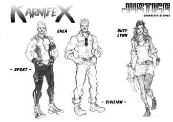 Karnifex Justice - Enea and Suzy Lynn by M3Gr1ml0ck