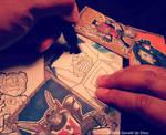 Transformers Sketch Card Preview by geralddedios