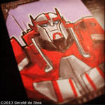 RATCHET (Transformers Prime) sketchcard by geralddedios