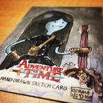 SteamPunk Marceline - Adventure Time Sketchcard by geralddedios