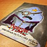 SteamPunk Lumpy - Adventure Time Sketchcard by geralddedios
