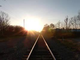 Train Tracks by Asmador