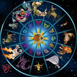 Pokemon Horoscopes by TheCrownedHeart