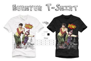Eunhyuk T-Shirt by qdlego