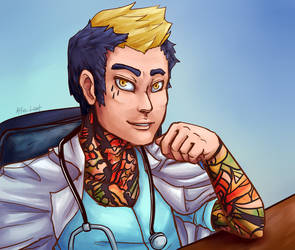 Pumpkin Online: Town Doctor by Prismshard
