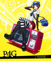 Persona 4 Golden: Marie by Juffles