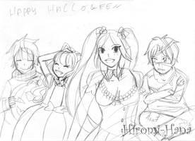 sketch Halloween by hiromihana