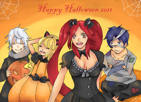 Happy Halloween 2011 by hiromihana