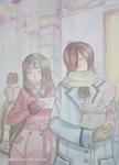 Hakuro et Steve by hiromihana