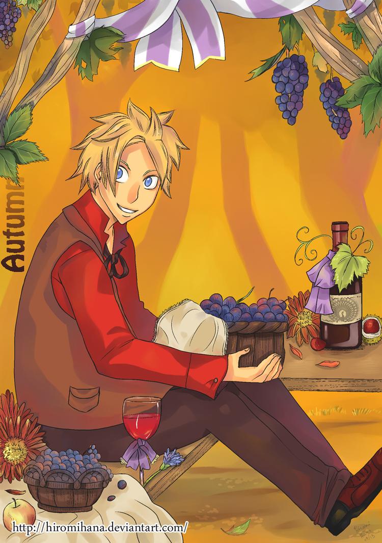 Julian automne by hiromihana