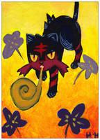 Fanart: Flamiaou by hiromihana