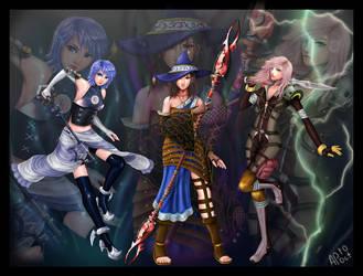 Triple Threat Dress Spheres by ZTKuko