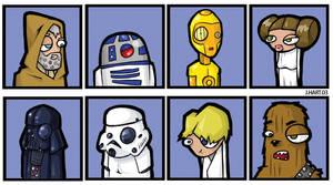 Star Wars by spewtank