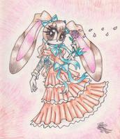 Cream the Rabbit by AlyssaFoxah