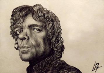 Tyrion Lannister by Tresdiasdegracia