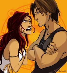 Cerridwen and Eros by ElementJax