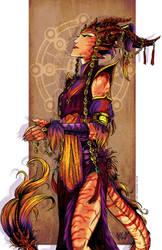 Vesta Dragon of Fire by ElementJax