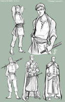 TA Marn character concepts by ElementJax