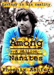 Among A Million Nanites - Front Cover by TheRogueParadox