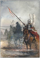 Winged horseman IX by sanderus