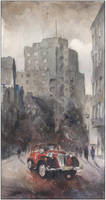 Postcard from old Katowice VIII by sanderus