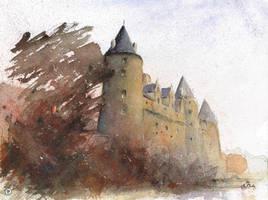 Chateau Josselin by sanderus