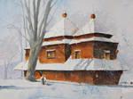 Winter in Smolnik by sanderus
