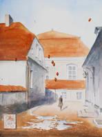 The Dreams Seller in Tykocin by sanderus