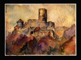 Bolkow Castle by sanderus