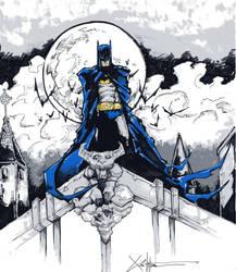 the batman by ChrisOzFulton