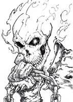 Ghost Rider 4 by ChrisOzFulton