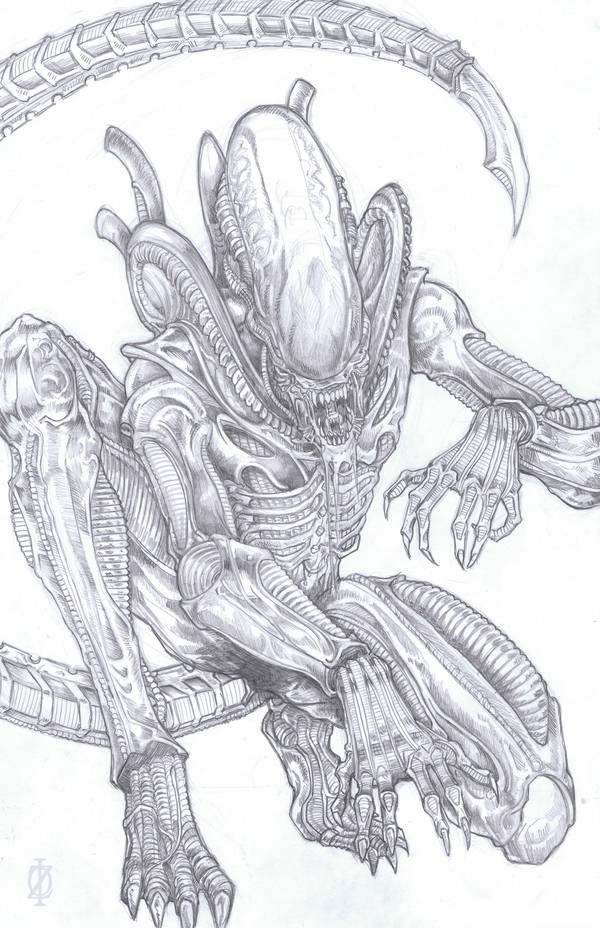 Xenomorph Alien by ChrisOzFulton
