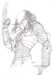 Yautja Predator by ChrisOzFulton