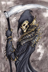 Grim Reaper s armor by ChrisOzFulton