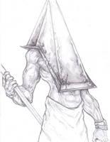 Pyramid Head  Silent Hill by ChrisOzFulton