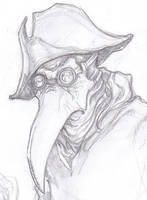 Plague Doctor by ChrisOzFulton
