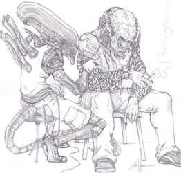 Alien Tattoo Predator ATP by ChrisOzFulton