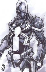 Venom Flash Thompson by ChrisOzFulton