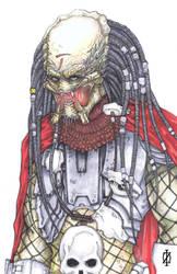 Elder Yautja Predator by ChrisOzFulton