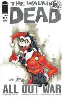 Harley Quinn Walking Dead commission by ChrisOzFulton