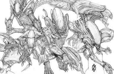 Xenomorph by ChrisOzFulton