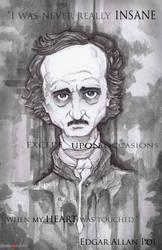 Edgar Allan Poe by ChrisOzFulton