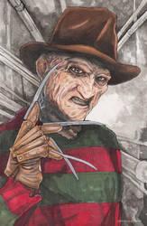 Freddy Krueger A Nightmare on Elm Street by ChrisOzFulton