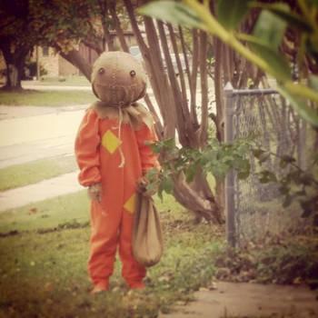 Trick 'r Treat Sam Costume Halloween by ChrisOzFulton