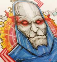 Darkseid DC Comics Commission by ChrisOzFulton