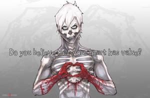 Hobo Heart Madame Macabre Heart Has Value by ChrisOzFulton