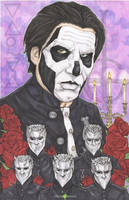 Ghost Papa Emeritus III by ChrisOzFulton