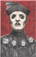 The Band Ghost Cardinal Copia Rats by ChrisOzFulton