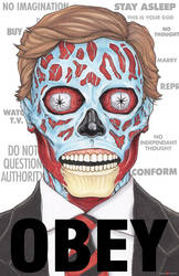 THEY LIVE OBEY JOHN CARPENTER by ChrisOzFulton